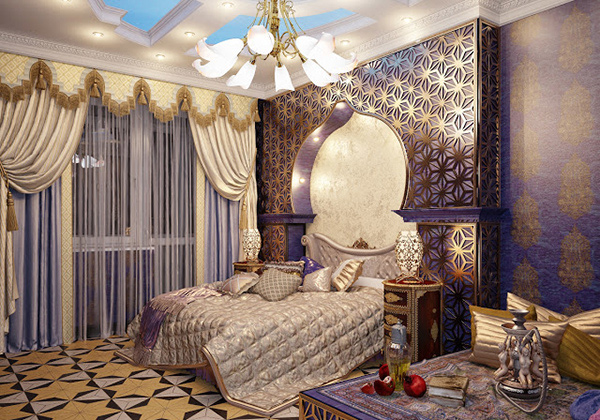 Light colours make a room look bigger, while dark tones close in and make the space smaller. 15 Decorating Bedroom Ideas and Tips | Home Design Lover