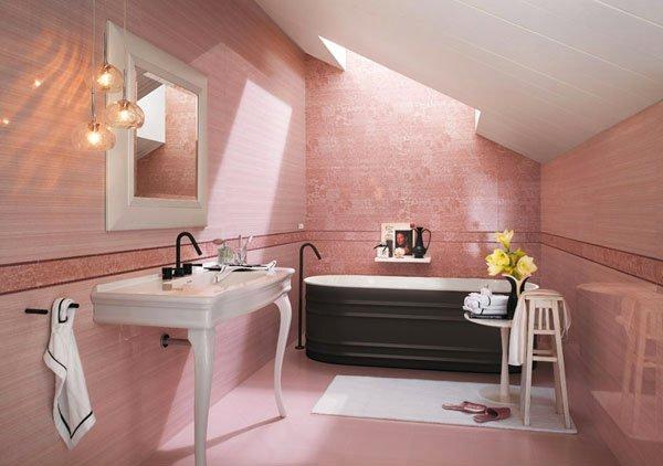 15 Creative Bathroom Tiles Ideas | Home Design Lover on Floral Tile Bathroom Ideas  id=35978