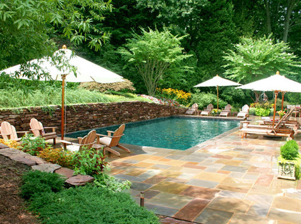 15 Amazing Backyard Pool Ideas | Home Design Lover on Backyard Pool Landscape Designs id=97602
