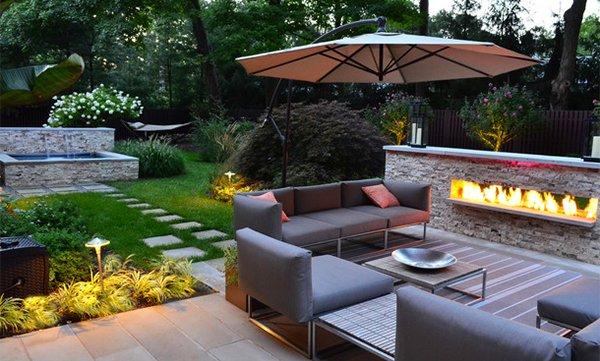 15 Backyard Landscaping Ideas | Home Design Lover on Modern Backyard Landscape Ideas id=25808