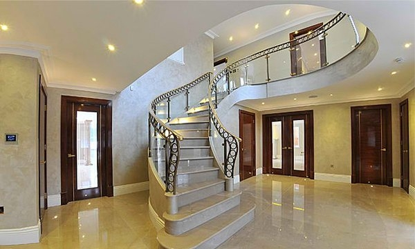 15 Concrete Interior Staircase Designs Home Design Lover   Duplex House Inside Steps   Living Room   Traditional   Duplex Stair Case   House Plan   1000 Sq Ft