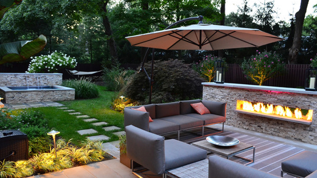 15 Backyard Landscaping Ideas | Home Design Lover on Back Patio Landscape Ideas id=61280