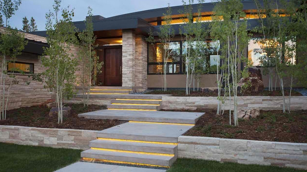 15 Concrete Exterior Staircase Design Home Design Lover   Designs Of Stairs Outside House