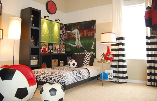 Softball Themed Bedroom Accessories