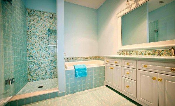 15 turquoise interior bathroom design