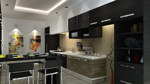 Kitchen Interior Design White