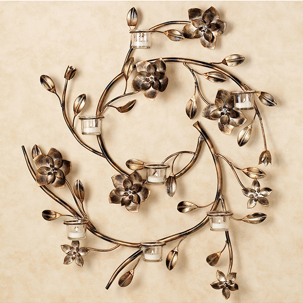 15 Timeless Wall Sconce Candle Holders | Home Design Lover on Wall Sconce Lighting Decor id=43084