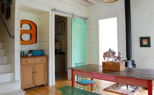 Colorful Vintage Farmhouse