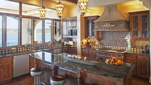 15 Stunning Mediterranean Kitchen Designs   Home Design Lover