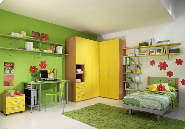 15 Refreshing Bedrooms In Yellow And Green Colors Home Design Lover