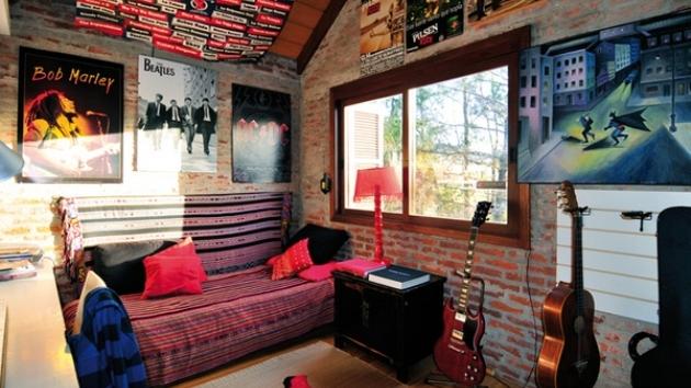 15 Interesting Music Themed Bedrooms   Home Design Lover