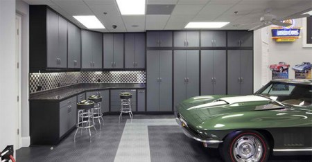 15 Ideas to Organize Your Garage   Home Design Lover cabinets design