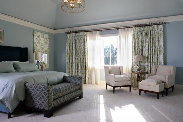 15 Beautiful Blackout Bedroom Curtains | Home Design Lover on Master Bedroom Curtains  id=75939