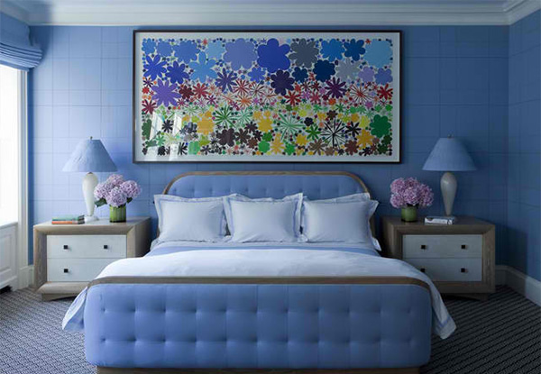 18 Ideas For Blue Contemporary Bedrooms Home Design Lover