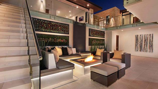 Galatea Luxury Home's Elegant Contemporary Interiors ...