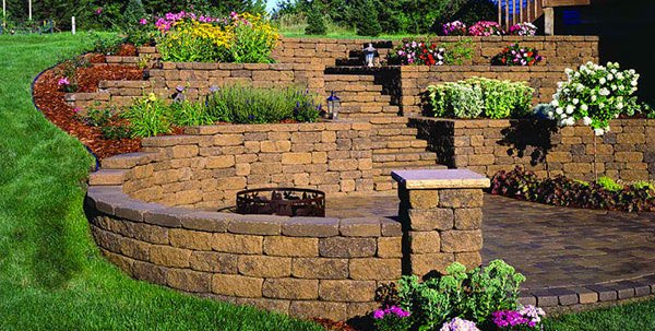 15 Ideas for Landscaping with Bricks   Home Design Lover on Brick Ideas For Backyard id=48056