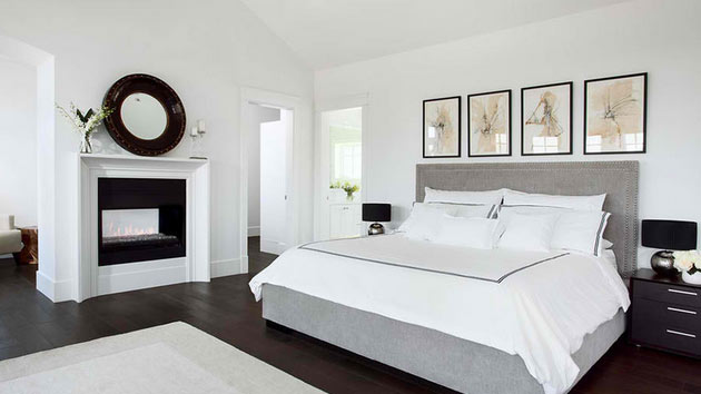 15 Simple Bedrooms With White Beds   Home Design Lover on Simple Best Bedroom Design  id=31816