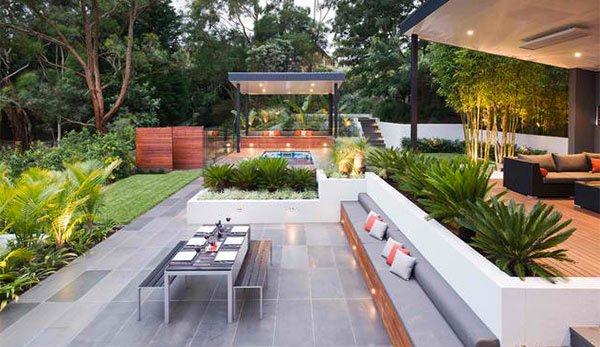 15 Contemporary Backyard Patio Designs   Home Design Lover on Modern Small Patio Ideas id=71066