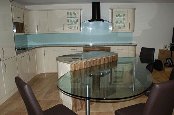 White L Shaped Kitchen Designs