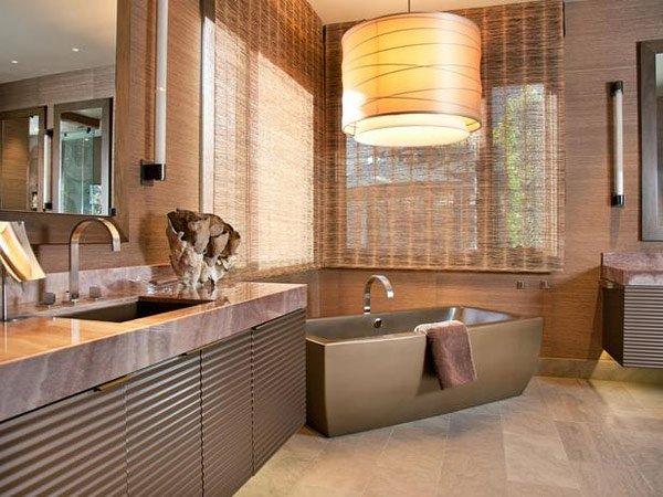 20 Designs For Bathroom Window Treatment Home Design Lover