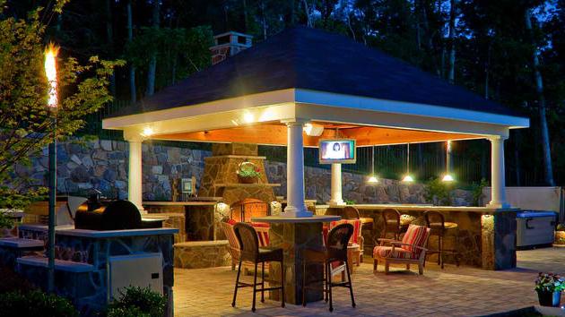 20 Amazingly Gorgeous Gazebo Lighting Home Design Lover