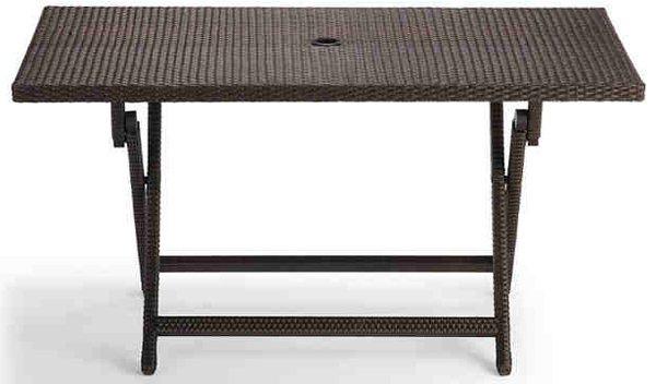 20 Varieties Of Rectangular Folding Outdoor Dining Tables
