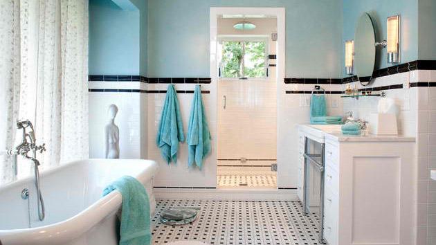 20 Beautiful Bathrooms Using Subway Tiles | Home Design Lover on Bathroom Ideas Subway Tile  id=43125