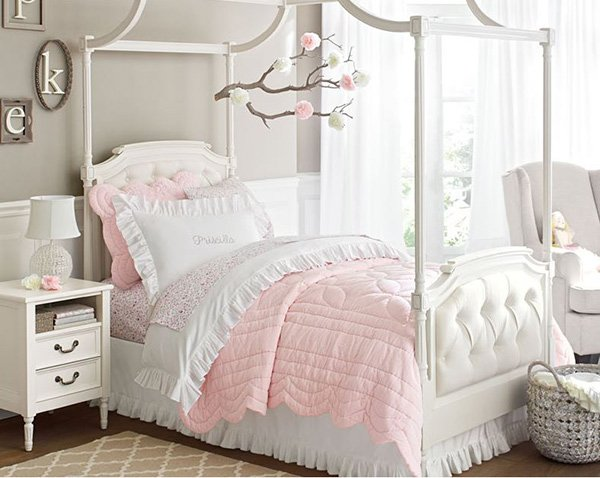 20 Chic and Beautiful Girls Bedroom Ideas For Toddlers ... on Beautiful Rooms For Girls  id=97532