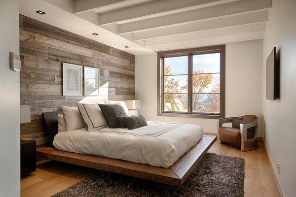 20 Fantastic Bedrooms with Pallet Walls | Home Design Lover on Pallet Bedroom Design  id=17904