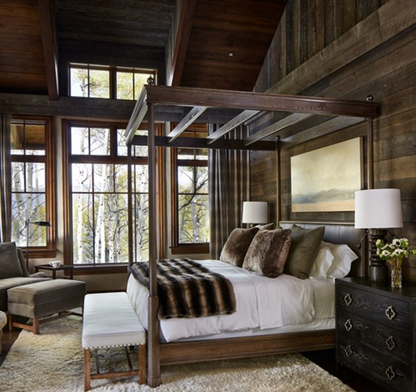 20 Fantastic Bedrooms with Pallet Walls   Home Design Lover on Pallet Bedroom Ideas  id=65424