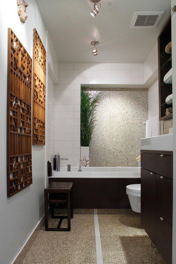 22 Eclectic Ideas of Bathroom Wall Decor | Home Design Lover