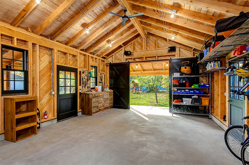 Before and After Photos of a Renovated Historic Garage in ... on Garage Decorating Ideas  id=64796