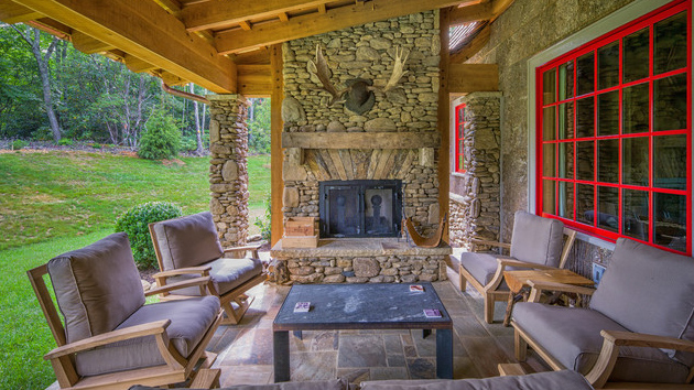 22 Porch Designs Using Natural Stone Pavers Home Design Lover