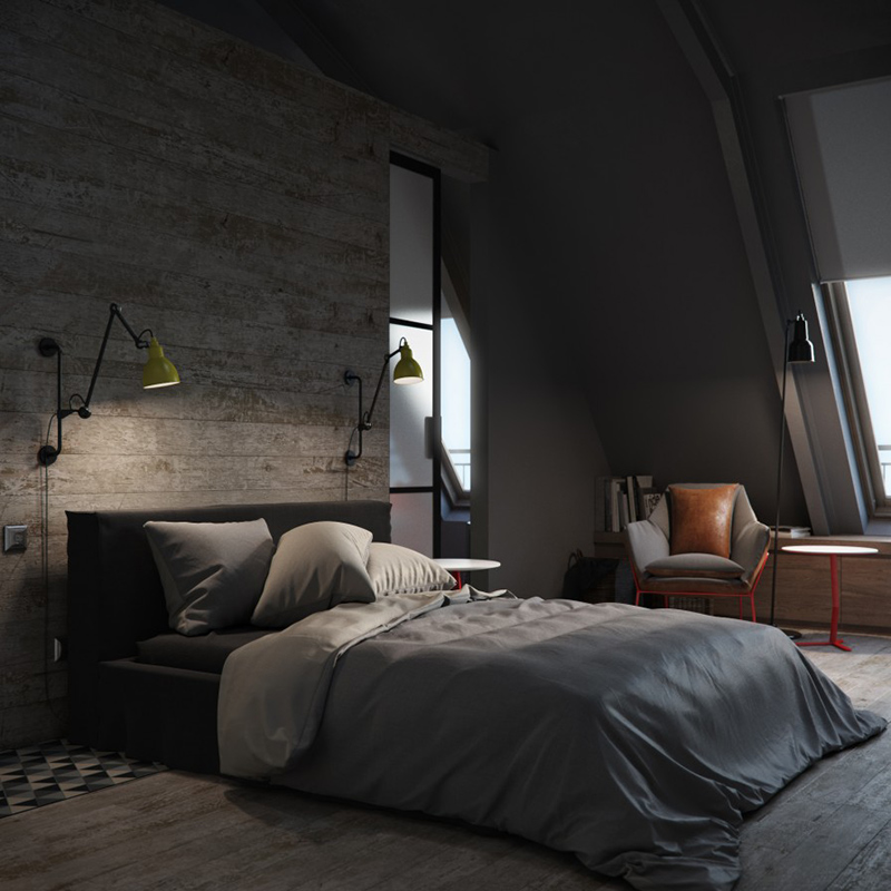 22 Bachelor's Pad Bedrooms for Young Energetic Men   Home ... on Bedroom Ideas For Guys With Small Rooms  id=30246