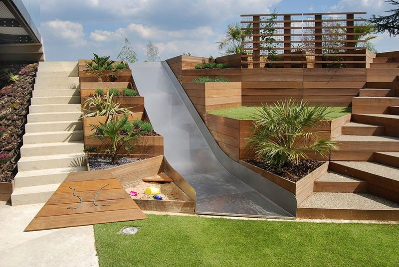 20 Terraced Planter Ideas to Add More Visual Appeal to ... on Terraced Yard Landscape Ideas id=17068