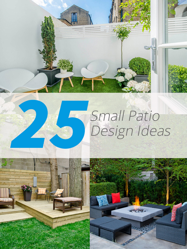 25 Practical Small Patio Ideas for Outdoor Relaxation ... on Small Patio Design Ideas  id=63557