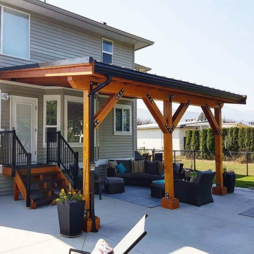 The Best Stylish Outdoor Covered Patio Roof Ideas on Covered Patio Design Ideas id=68100