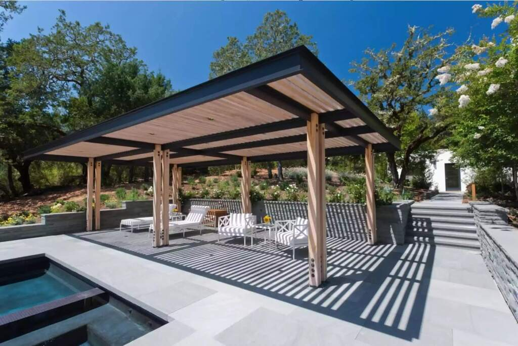 outdoor covered patio roof ideas