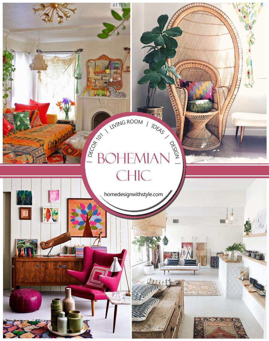 Decor 101: Bohemian Living Room | Design Your Home With Style on Bohemian Living Room Decor Ideas  id=73545