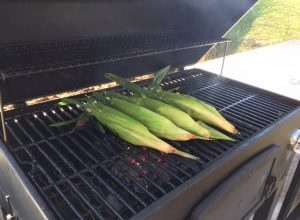corn-on-grill