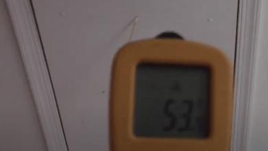Attic Stair Temperature