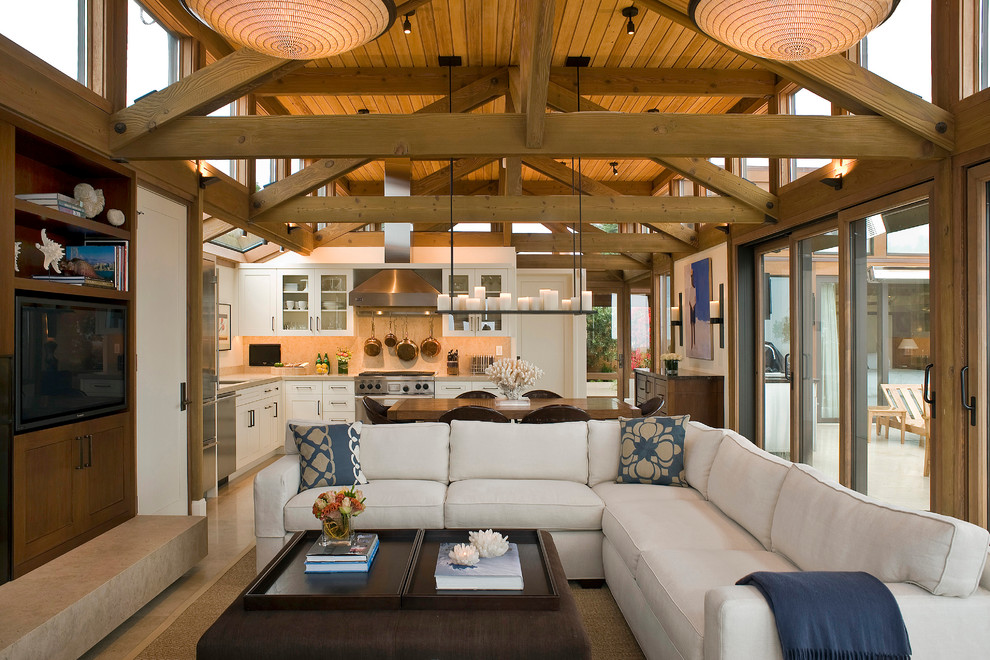 Large Living Room Design Ideas That Can Be Felt More Stylish