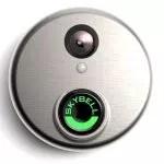 SkyBell HD silver wifi video doorbell