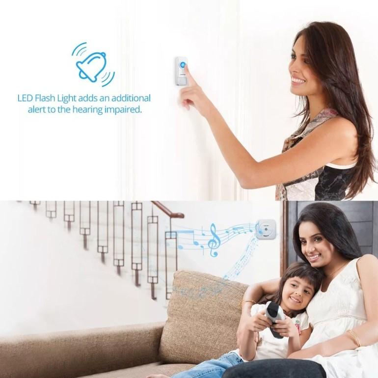 homasy waterproof doorbell