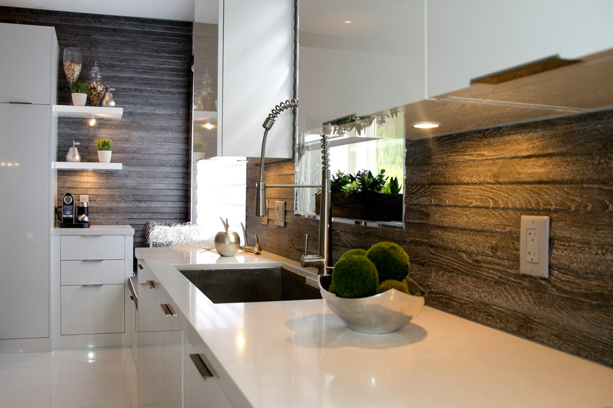 6 Backsplash Ideas That Aren't Tile on Countertops Backsplash Ideas  id=98924