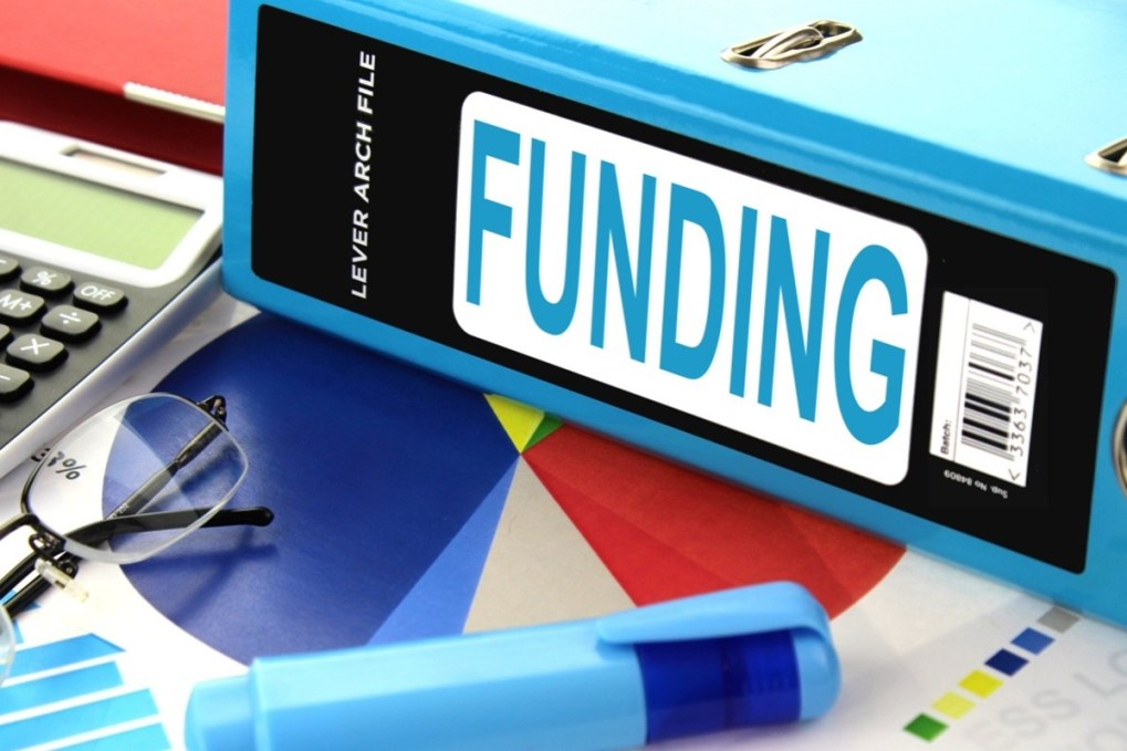 "Word ""Funding"" written on a folder—Homeschool funding"