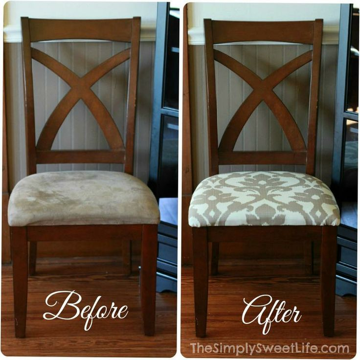 Fabric Reupholster Dining Room Chairs