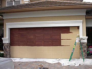 Garage door paint ideas - Installing a Garage Door on Garage Door Color Ideas  id=90023