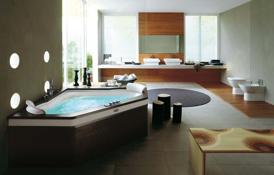 spa bathroom designs - large and beautiful photos. photo to select