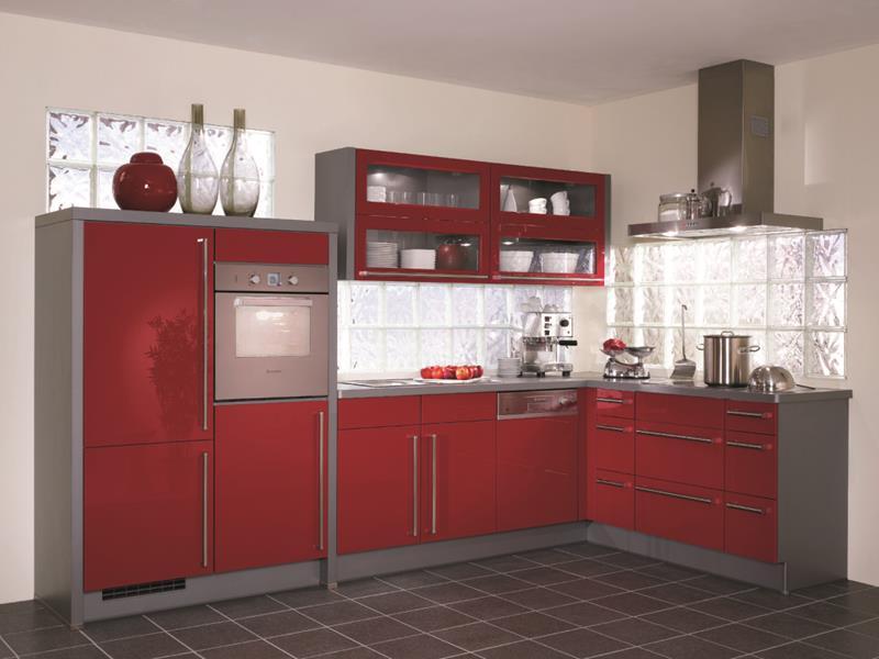 27 Thiết kế nhà bếp màu đỏ hoàn toàn tuyệt vời-12